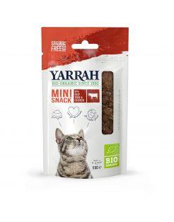 Yarrah Bio Kat Mini Snacks - Kattensnack - Rund 50 g