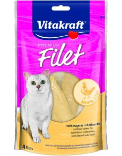 Vitakraft Premium Filet Chicken - Kattensnack - Kip 70 g