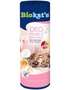 Biokat's Deo Pearls Baby Powder - Kattenbakreinigingsmiddelen - 700 g