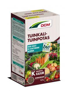 Dcm Tuinkali - Tuinpotas - Moestuinmeststoffen - 1.5 kg (Kr)