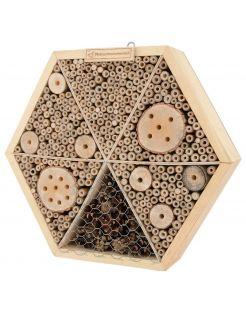 Natuurmonumenten Insectenhuis Zeshuis - Nestkast - 8x34x34 cm Large