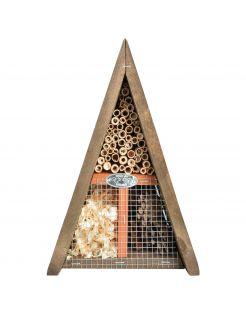 Best For Birds Driehoekig Insectenhotel - Nestkast - Bruin