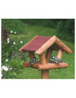 Wildbird Los Voederhuis Rood Dak - Voederhuis - per stuk
