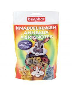 Beaphar Knabbelringetjes - Knaagdiersnack - 75 g
