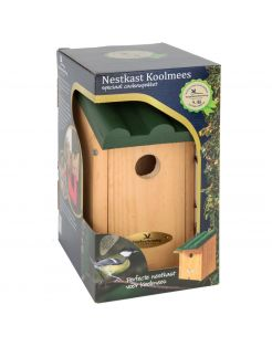 Wildbird Nestkast Toronto Kadobox - Broeden - 29x17x22 cm