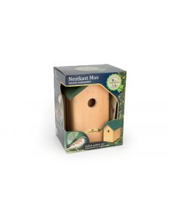 Wildbird Nestkast Oklahoma Kadobox - Broeden - 38x20x18 cm