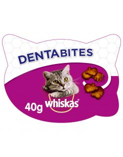 Whiskas Dentabites - Kattensnack - Dental 40 g