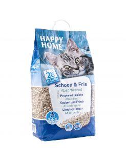 Happy Home Schoon & Fris Absorberend - Kattenbakvulling - 20 l