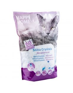 Happy Home Silica Crystals - Kattenbakvulling - 7 l