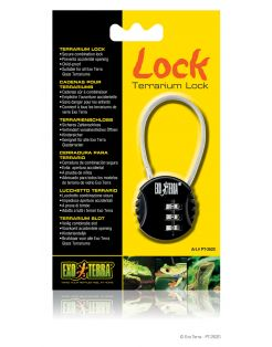 Exo Terra Cijferslot Metaal Lock - Accessoire - Zwart per stuk
