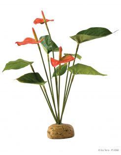 Exo Terra Rainforest Plant Anthuriumbush - Kunstplanten - per stuk