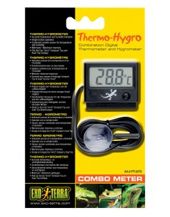 Exo Terra Combometer Thermo-Hygro - Hygrometer - per stuk Digital