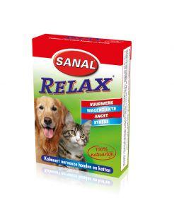 Sanal Relax Hond/Kat - Anti stressmiddel - 15 stuks