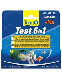 Tetra Tetratest 6 In 1 - Testen - 25 stuks