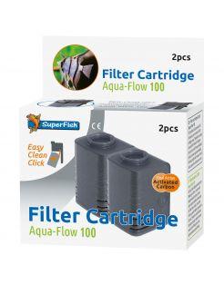 Superfish Filtercassette Aqua-Flow 100 - Filters - 2 stuks