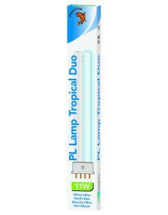 Superfish Pl Lamp Tropical Duo Aqua 40 - Verlichting - Wit Blauw 11 Watt