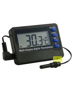Europet Bernina Digitale Thermometer - Aquarium Toebehoren - Zwart -50-70 C