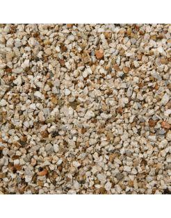 Vdl Aquariumgrind Calstone 1-2 Mm - Aquarium - Siergrind - 8 kg Bruin Wit