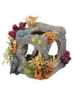 Aqua Della Decor Kubus - Aquarium - Ornament - 12x11.5x11 cm