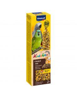 Vitakraft Papegaai Kracker - Vogelsnack - 2 stuks African