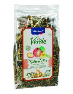 Vitakraft Vita-Verde Paardenbloem/Appel - Knaagdiersnack - 80 g