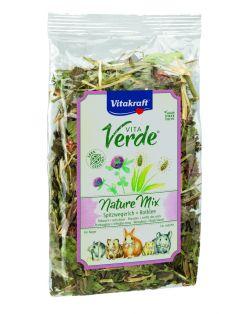 Vitakraft Vita-Verde Weegbree En Klaver - Knaagdiersnack - 70 g