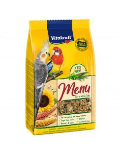 Vitakraft Valkparkieten Premium Menu - Vogelvoer - 1 kg