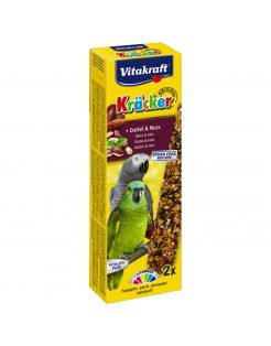 Vitakraft Papegaai Kracker - Vogelsnack - Noten 2 stuks