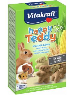 Vitakraft Happy Teddy Vita - Knaagdiersnack - 75 g