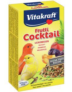 Vitakraft Kanarie Fruit-Cocktail - Vogelsnack - 200 g