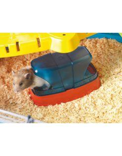 Savic Hamstertoilet - Dierenverblijf - 17x10x10 cm