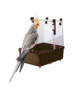 Ferplast Badhuis 101 Valkparkiet - Vogelverblijven - 23.5x15.5x24 cm Assorti