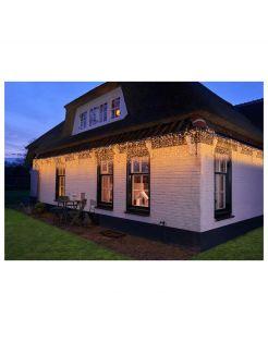 Cbd Gordijnverlichting Outdoor - Verlichting - 500x50 cm 1061 g Warm Wit Transparant 1000 led