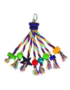 Happy Pet Parrot Toy- Carnival - Vogelspeelgoed - Assorti per stuk