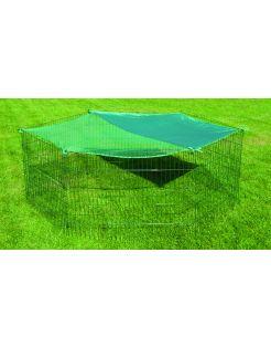 Adori Beschermnet Voor Konijnenren L - Dierenverblijf - Ø180 cm Groen