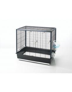 Savic Vogelkooi Primo 60 - Vogelverblijven - 80x50x70 cm Zwart