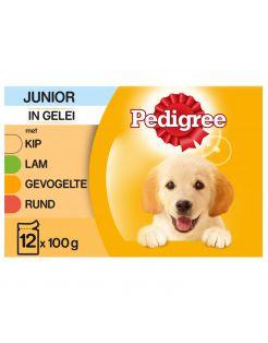Pedigree Maaltijdzakjes Junior Multipack - Hondenvoer