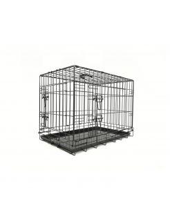 Adori Bench 2-Deurs De Luxe Zwart - Hondenbench