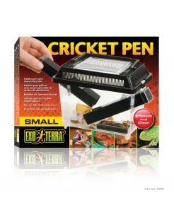 Exo Terra Cricket Pen S 3 Buizen En 2 Spons Zwart - Bijproducten
