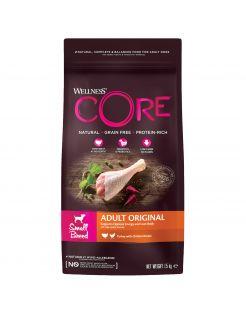 Wellness Core Grain Free Dog Small Breed 1.5 kg - Hondenvoer