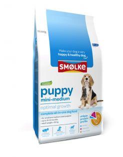 Smolke Puppy Mini-Medium Kip&Lam&Vis - Hondenvoer