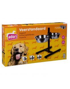 Adori H Standaard Inclusief 2 Bakken - Hondenvoerbak