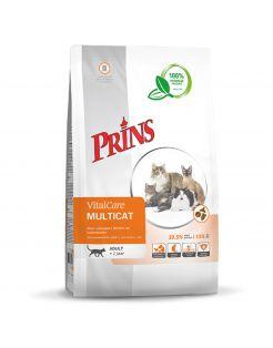Prins Vitalcare Multicat Gevogelte - Kattenvoer