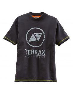 Terrax T-Shirt Zwart&Lime - Werkkleding