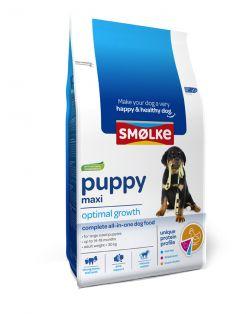 Smolke Puppy Maxi Kip&Lam&Vis - Hondenvoer