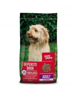 Pets Place Adult Geperste Brokken Gevogelte&Vlees - Hondenvoer