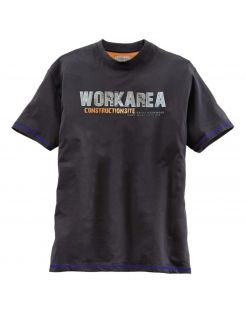 Terrax T-Shirt Zwart&Blauw - Werkkleding