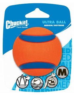 Chuckit Ultra Ball Oranje&Blauw - Hondenspeelgoed