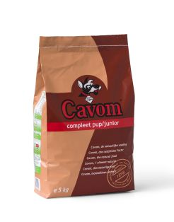 Cavom Compleet Pup/Junior Rund&Vlees - Hondenvoer