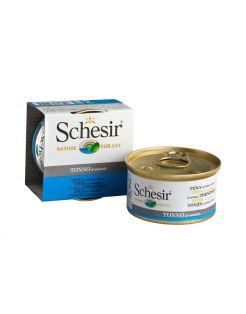Schesir Kat Blik Gekookte Vis 85 g - Kattenvoer